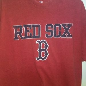 MLB Shirts - BOSTON RED SOX BASEBALL T-SHIRT 👕 Sports Tee MLB